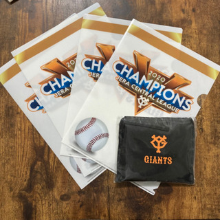 GIANTS  クリアファイル(4枚)&エコバック