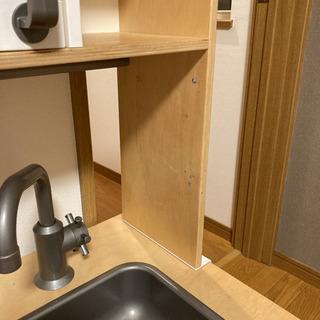 IKEA おままごとキッチン 食器棚 - 売ります・あげます