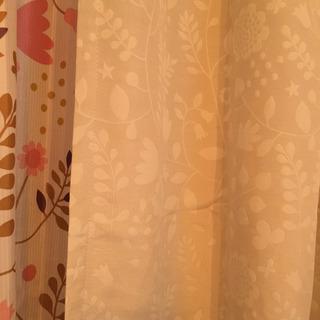 ベルメゾンのmini laboのカーテンセット - 家具