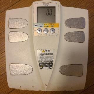 体脂肪計付き体重計