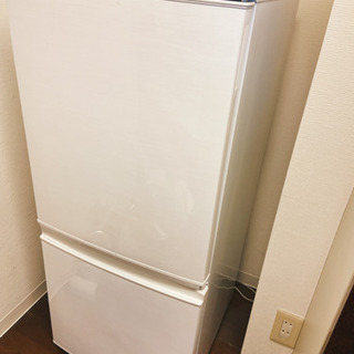 シャープ ノンフロン冷凍冷蔵庫 137L