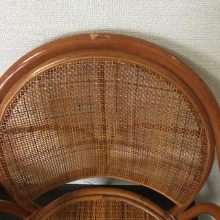 座面回転式 座椅子 2脚 セット − 千葉県