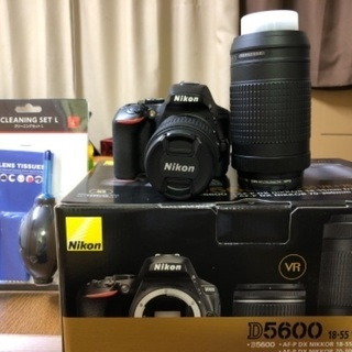 【ネット決済】Nikon d5600 ダブルズームキット