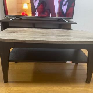 無料!テーブル 小型 サイドテーブル テレビ