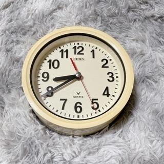 【ネット決済・配送可】CITIZEN 船舶時計 レトロ掛け時計①