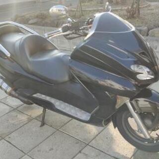 ホンダ 黒 MF08 ビッグスクーター フォルツァ マニュ…