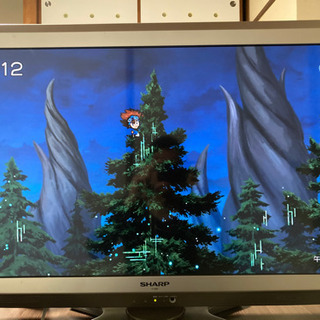 《取引決定SHARP AQUOS》液晶テレビ32インチ