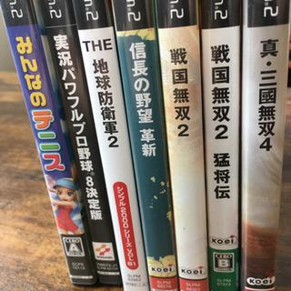 【ネット決済・配送可】プレステ2 PS2 ソフト7本セット