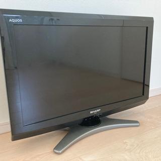 SHARP 26型 液晶テレビ ブラック