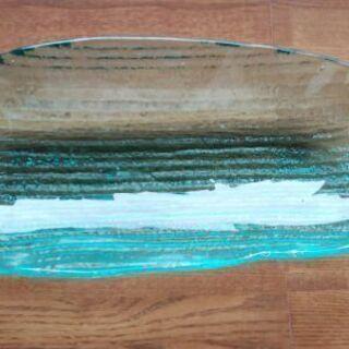 手作りガラス皿