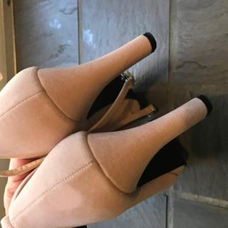 Lサイズ ほぼ未使用 ビジューパンプス - 靴/バッグ