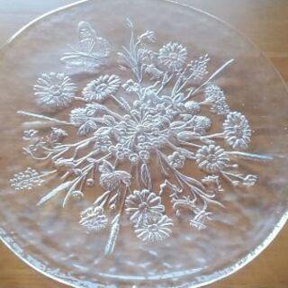 手作りガラス皿セット