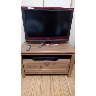 シャープAQUOS 32インチ 液晶テレビ&テレビ台