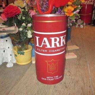 LARK ブリキのダストボックス/ラーク・傘立て・ゴミ箱・…