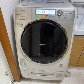【早い者勝ち】冷風温風機能付き ドラム式洗濯機 9キロ