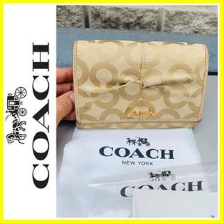 【ネット決済・配送可】保存袋つき■大丸購入■COACH コーチ ...