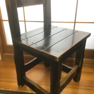 椅子 木製 中古 アンティーク風