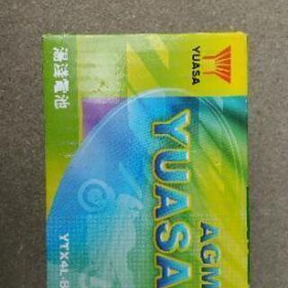 新品未使用  原付用 バッテリー ユアサ YUASA YTX-4...
