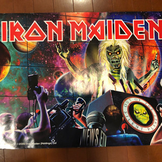IRON MAIDEN アイアンメイデンのポスター   ハ…