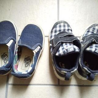 子供靴 15cm VANS ナイキ 2足