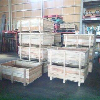 =取引中=無料■引取限定■大きな木箱 DIY/ガーデニング/ガレ...
