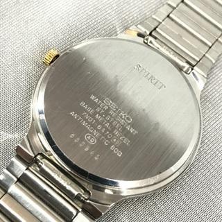 SEIKO セイコー スピリット クォーツ ルミブライト 金銀コンビ3針モデル 2006年製造 - 売ります・あげます