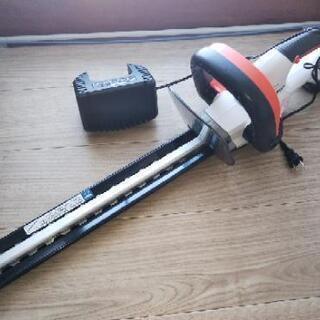 充電式 草刈り機 ヘッジトリマー 1回のみ使用