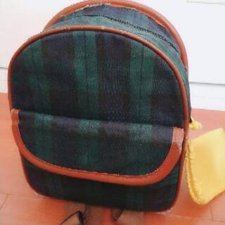 子供のバッグ