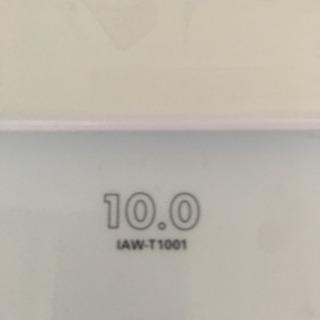アイリスオーヤマ 10キロ洗濯機 ほぼ新品