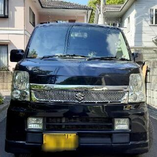 人気の黒。エブリィワゴン64wターボ。