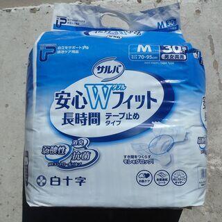大人用紙おむつ・テープ式・Mサイズ・30枚入り 1,500円