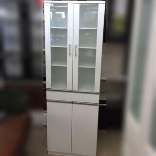J519 ニトリ スリム食器棚 キャビネット フォルム S…