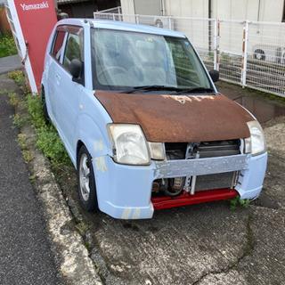 スズキ アルト G 5速 4WD ローダウン 部品取りベース 車...