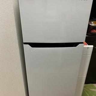 冷蔵庫2ドア 製造年2020年