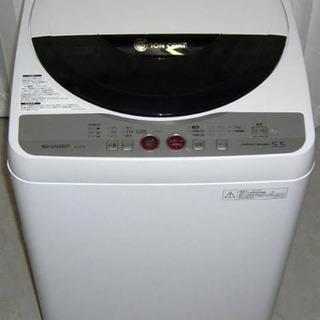 洗濯機 SHARP ES-GE55K