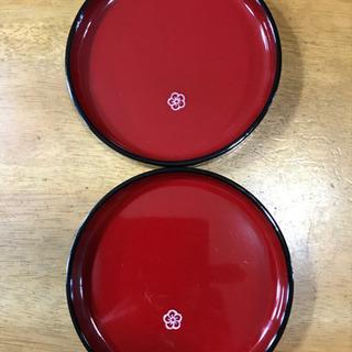 【ネット決済】漆塗り小皿2枚組