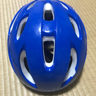 子どもヘルメット 青