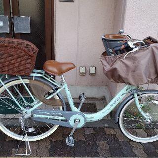 [maruishi]FRACKERS プリミヤ 子供自転車(前2...