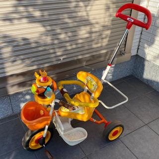 三輪車 くまのプーさん ポップンカーゴ