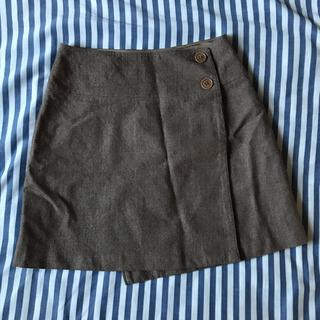 SISLEY イタリア製 巻きスカート 38 Mくらい