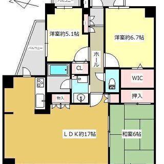 室内リフォーム済みマンション!床暖房、浴室乾燥機etc充実設備☆