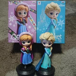 Qposketアナと雪の女王2点セット