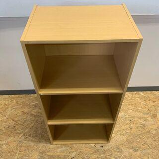 カラー ボックス 棚 収納 家具 インテリア キャビネット 3段 - 富山市