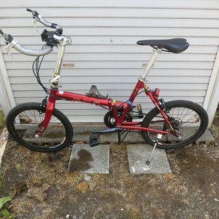 【ネット決済】折り畳み自転車(KHSーF20)