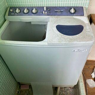 即決 洗濯機 東芝 二槽式洗濯機 工場 中古動作品 中川区…