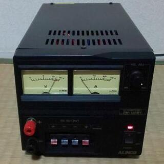 【ネット決済・配送可】安定化電源 ALINCO アルインコ DM...