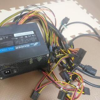 オウルテック FSP RA2-750 ATX電源 750W 80PLUS Silver RAIDER シリーズの画像