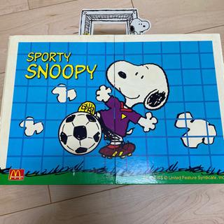 スヌーピー&テディベア 玩具セット