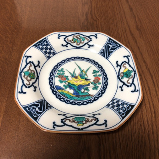 九谷焼 平皿 5枚セット