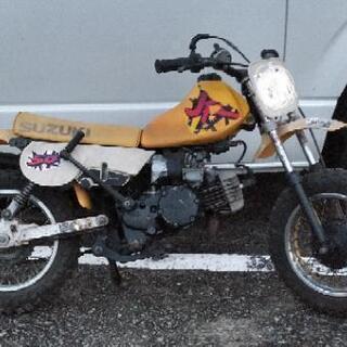 スズキJR50 QR PW ポケバイ オフロード モトクロス